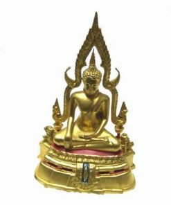 Buddha al Medicinei auriu, din metal