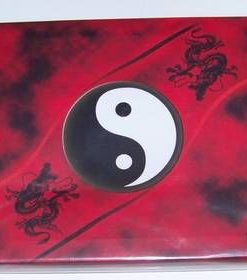 Tablou Feng Shui cu dragonii fericirii si Yin-Yang