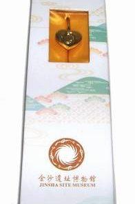 Semn de carte placat cu aur