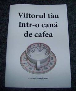 Brosura de divinatie in cafea