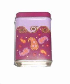 Cutie pentru ceai cu simboluri de bun augur