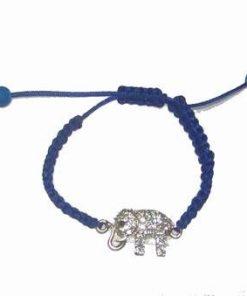 Bratara cu elefantul prosperitatii pe siret reglabil
