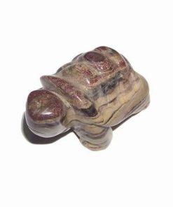 Broasca testoasa cu cristal natural de jasp
