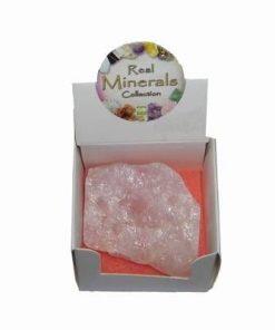 Cristal brut din roz pentru iubire
