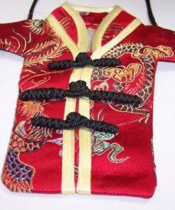 Husa Feng Shui pentru telefon cu Dragon si Pasarea Phoenix