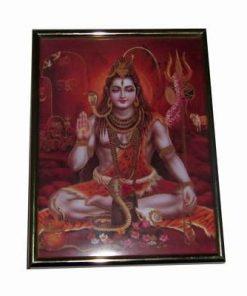 Tablou cu zeitatea Shiva
