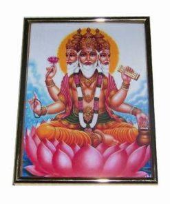 Tablou cu zeitatea Brahma
