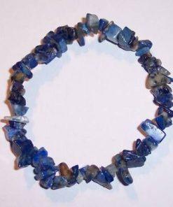 Bratara din lapis lazuli pe elastic
