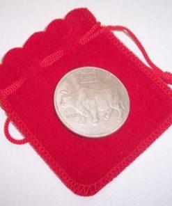 Moneda antica - Zodia Bivol