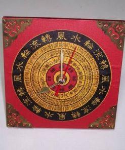 Ceas Feng Shui cu simboluri de bun augur