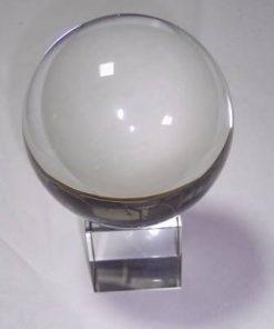 Sfera din cristal cu suport