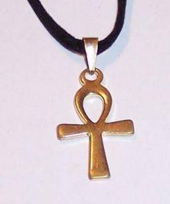Crucea egipteana a intelepciunii din argint