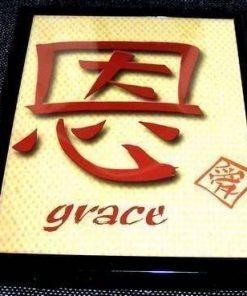 Tablou Feng Shui cu ideograma Binecuvantarii - unicat!
