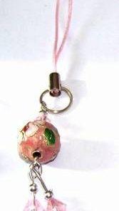 Canaf Feng Shui cu sfera de culoare roz cloazone