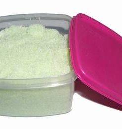 Casetuta din plastic, cu sare de baie
