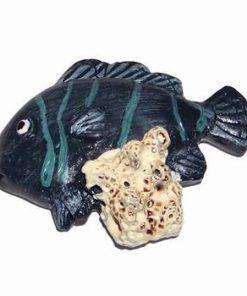 Crapul norocos din ceramica cu lipici