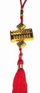 Canaf cu abacus si ideograme de bun augur