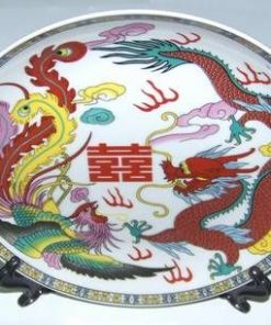 Decor Feng Shui in forma de farfurie