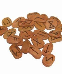 Set Feng Shui de divinatie prin rune din lemn