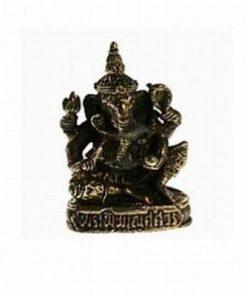 Ganesha sezand - ministatuie din alama