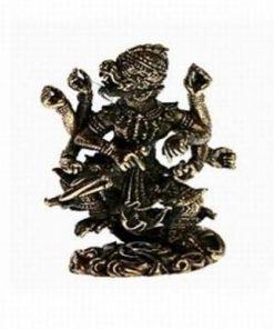 Hanuman - Zeul Maimuta - ministatueta din alama