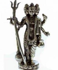 Zeul Shiva - statuie din alama