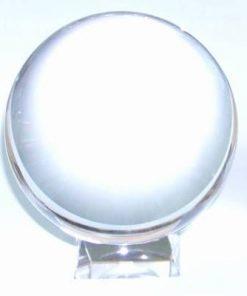 Sfera Feng Shui din cristal cu suport, pentru divinatie  XXL