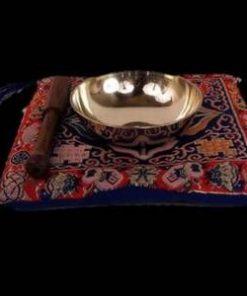 Bol tibetan din alama, cu 7 metale nobile, fara pernuta