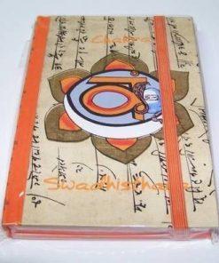 Agenda pentru notite - chakra Swadhisthana - mare