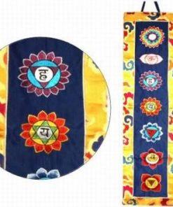 Banner cu cele 7 chakre