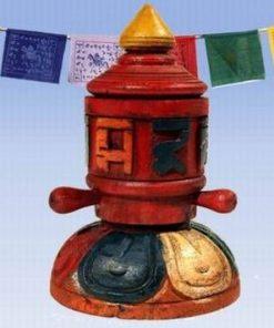 Morisca dorintelor cu cele 8 simboluri norocoase, din lemn