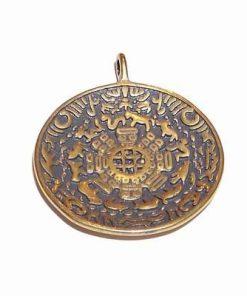 Talismanul succesului absolut placat cu aur - vintage