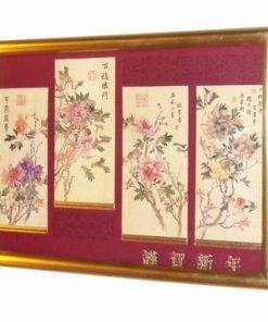 Tablou Feng Shui cu cele 4 binecuvantari ale sanatatii