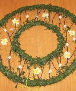 Decor Feng Shui rotund cu florile fericirii