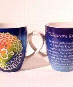 Cana de ceai si cafea din portelan - Sahasrara Chakra