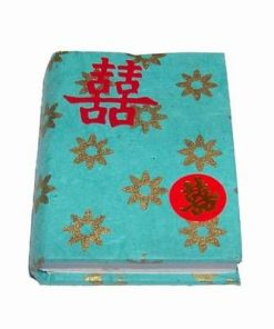 Miniagenda Feng Shui cu simboluri de protectie - Lemn