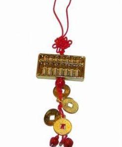 Canaf cu abacus si monede aurii