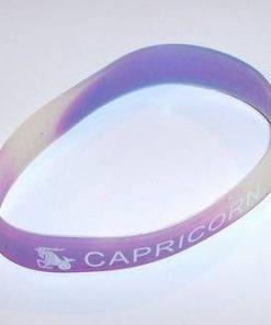 Bratara din silicon cu simbolul Capricornului