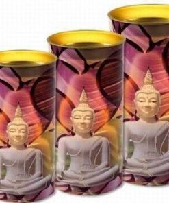 Lumanare cu Buddha al Meditatiei