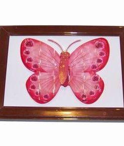 Tablou 3D Feng Shui cu Fluturele armoniei