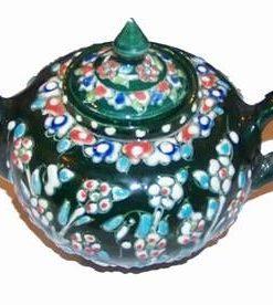 Ceainic din ceramica, lucrat manual