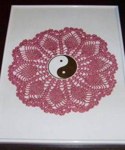 Tablou Feng Shui cu Yin-Yang si Floarea Vietii