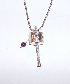 Pandantiv din argint pe lant din argint - Morisca Dorintelor
