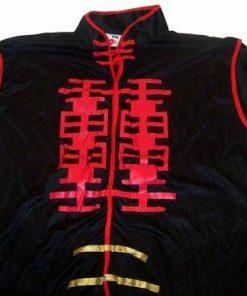 Bluza Feng Shui cu Simbolul Dublei Fericiri