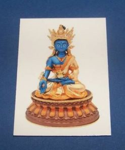 Buddha al medicinei - steaua #2 - card