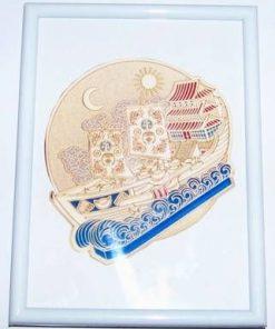 Corabia/Vasul Bogatiei - tablou