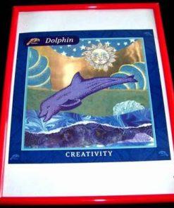 Tablou Feng Shui cu animalul norocos - Delfin