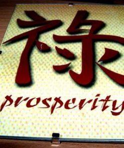 Tablou Feng Shui cu Ideograma Prosperitatii - model unicat!